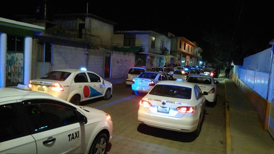 Asalta a otro taxista en Apizaco