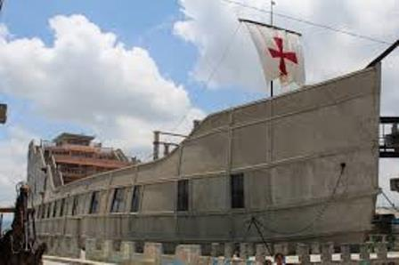 Sismo dañó muros de la Barca de la Fe en Tlaxco