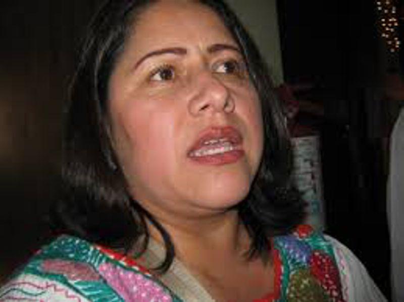 Dirigente del PRI Blanca Águila Lima ningunea al gobernador