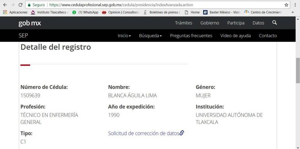 Blanca Águila podría ser expulsada de la SESA por usurpar salario y plaza