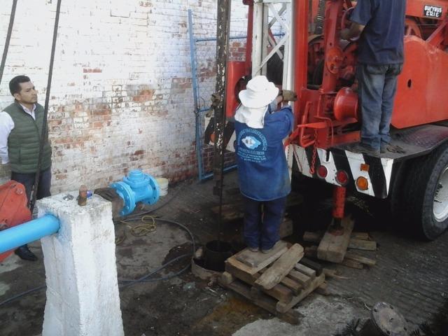 CAPACH da mantenimiento al pozo 6 de la U. Santa Cruz