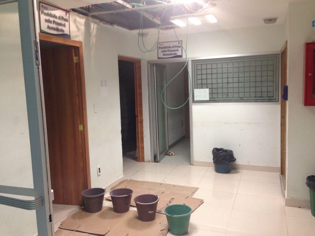 Con cubetas y remiendos opera el Hospital General de Tlaxcala
