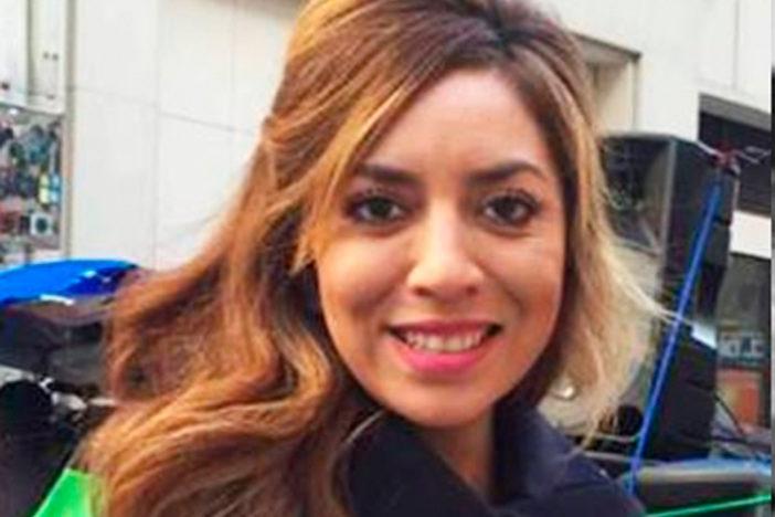 Huamantleca novia del vocero de Morena se inmiscuye en política