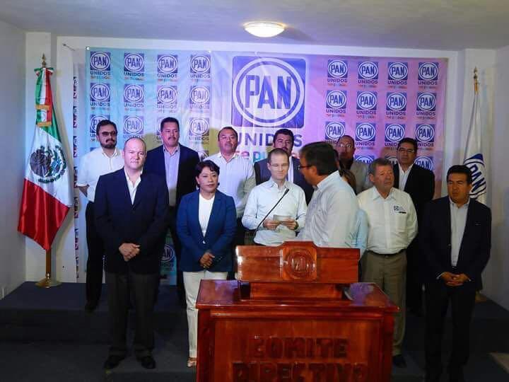 Ricardo Anaya respaldó trabajo de diputados panistas