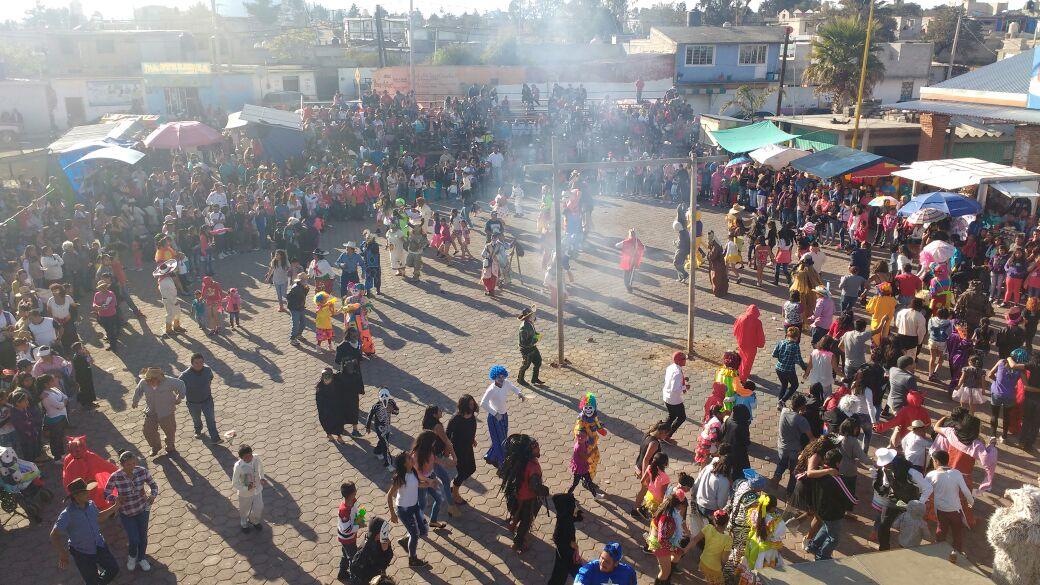 Espectacular cierre de Carnaval en Españita