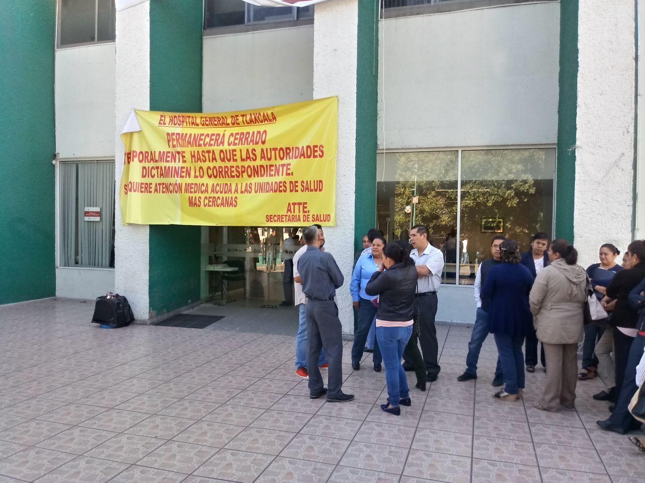 A pesar de riesgos reabrirán Hospital General de Tlaxcala