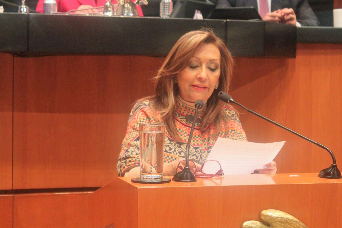 Cuéllar defendió la no militarización del país, PRI y PAN lo aprobaron