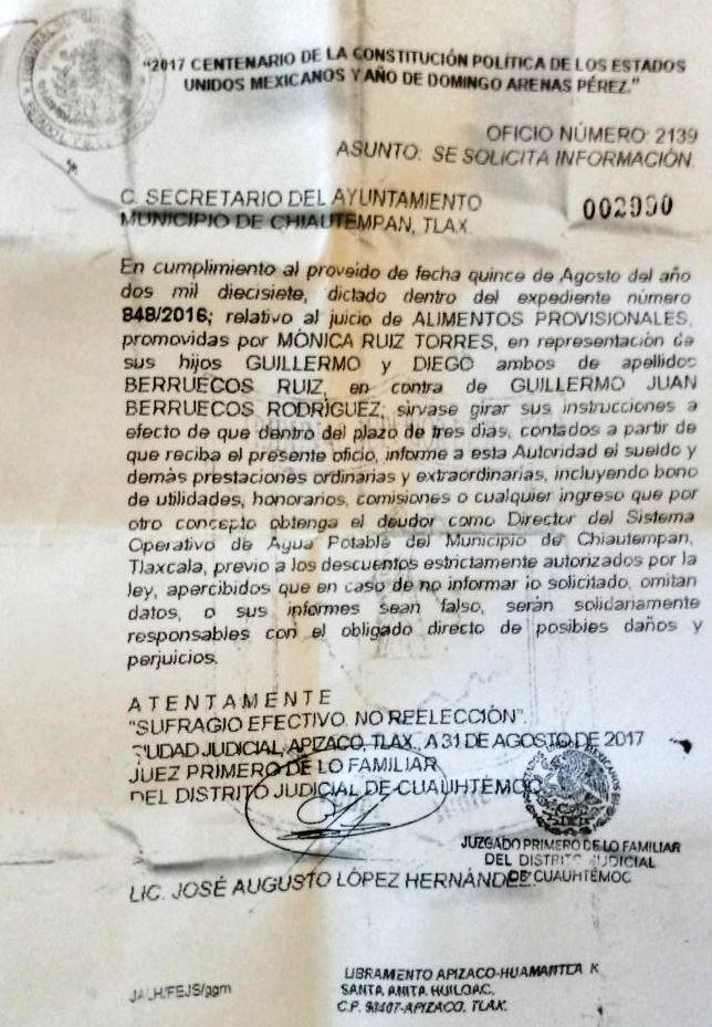 Padre desobligado podría ser futuro candidato de Morena