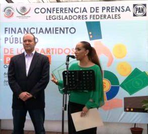 PAN busca eliminar financiamiento a partidos políticos
