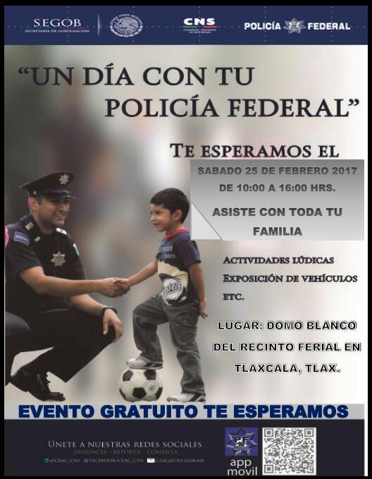 La policía federal se acerca a la ciudadanía