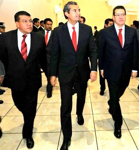 En hombros salió Ramírez Conde del PRI