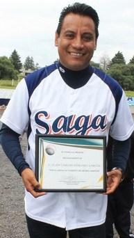 """SAGA """"Promotor de béisbol del año"""""""