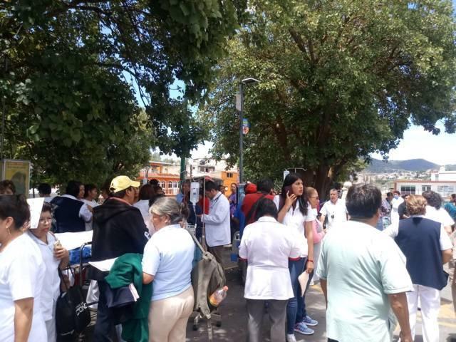 Psicosis en el Hospital General de Tlaxcala por sismo