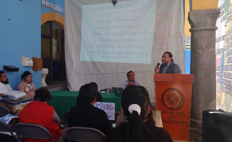 Teolocholco implementa acciones contra la Trata de Personas