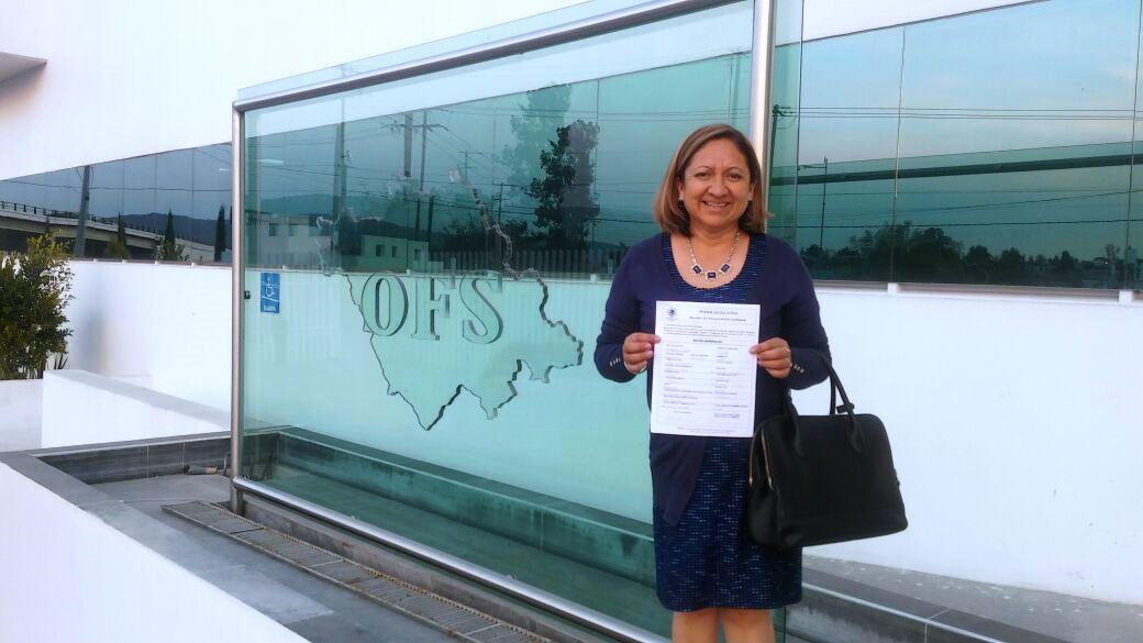 Maribel Cervantes, primera alcaldesa en la historia de Tlaxcala en presentar su declaración 3 de 3