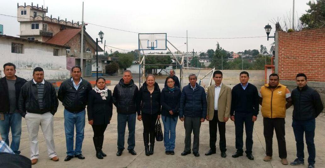 Alcaldesa invertirá 2 millones de pesos en rehabilitación de cancha deportiva