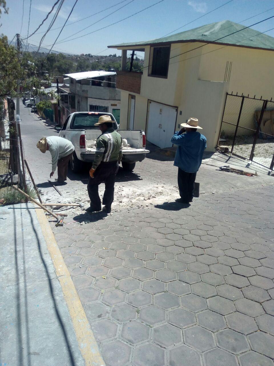 Finalmente atienden a pobladores en Totolac
