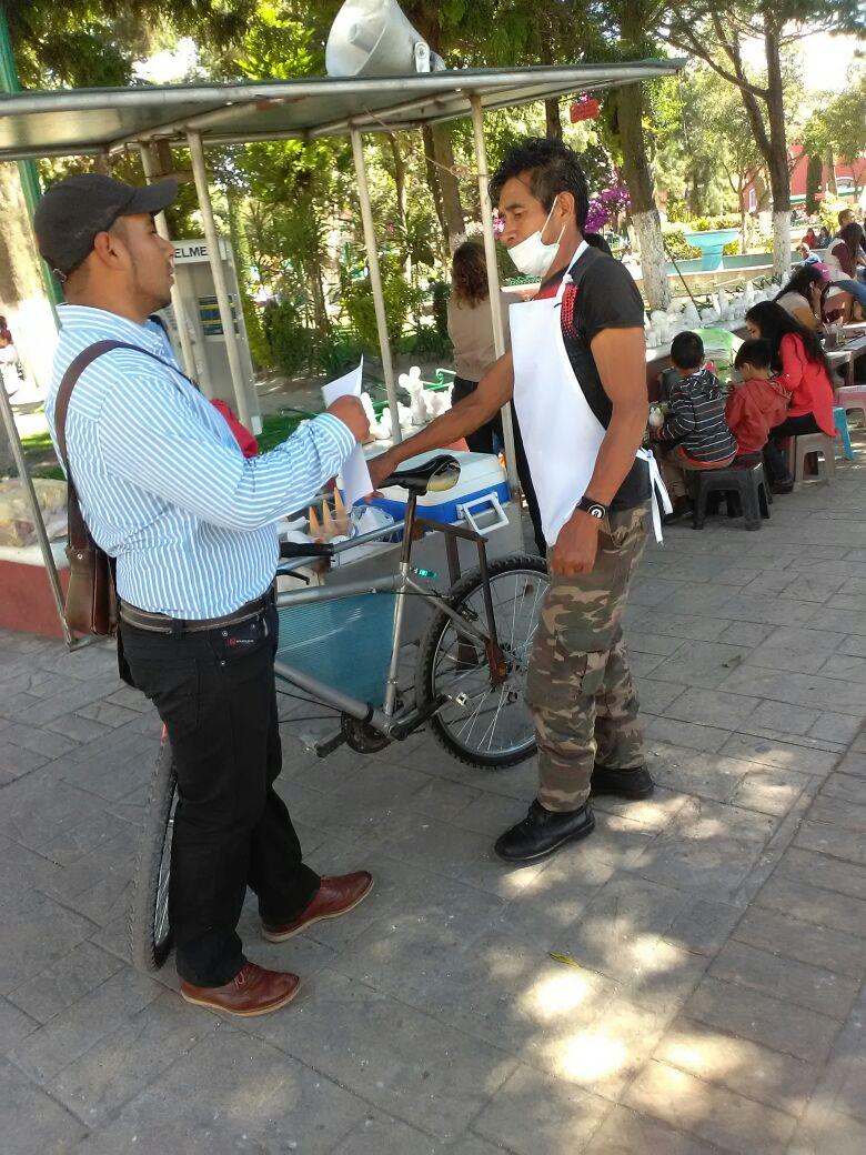 Alcalde mejora la imagen urbana retirando a vendedores informales