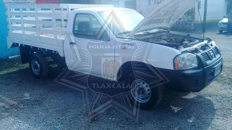En la última semana recupera policía estatal 11 vehículos con reporte de robo