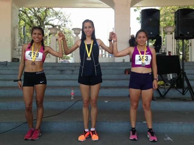 Destacan atletas apizaquenses en competencia nacional, primer y segundo lugar