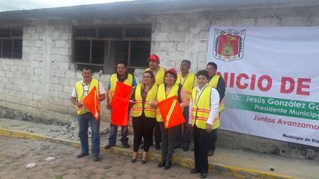 Alcalde de Españita inicia rehabilitación del dispensario médico