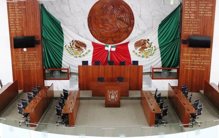 Por definir órganos internos en el Congreso del Estado