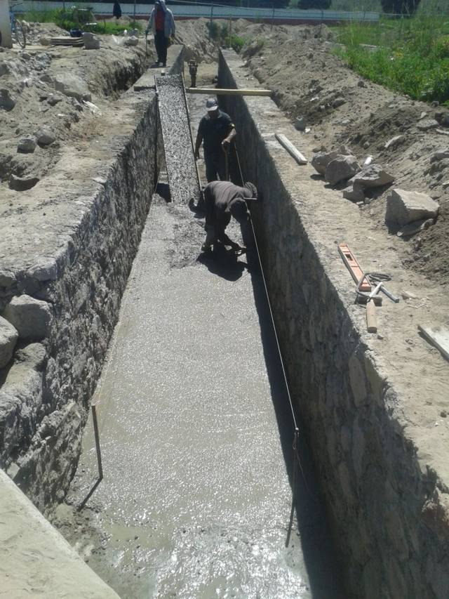 Alcalde entrega obra de drenaje pluvial a pobladores de Francisco Villa Tecoac