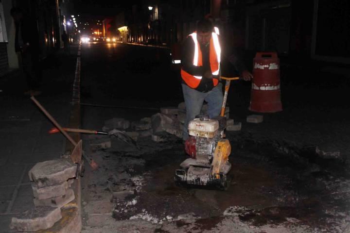 Inician trabajos de rehabilitación en calles de la capital