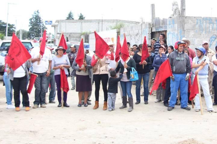 Alcalde ejercerá 7.6 mdp en obras para 7 comunidades de Antorcha Campesina