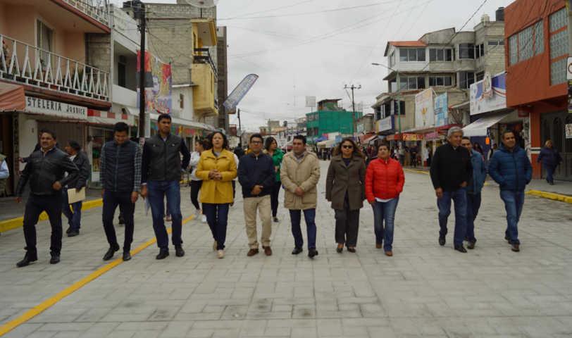 Alcalde de Calpulalpan sigue gestionando obras de impacto a favor de la ciudadanía