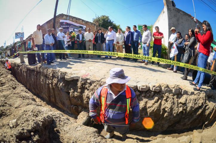 Inician obras en Tizatlán por casi 6 millones de pesos