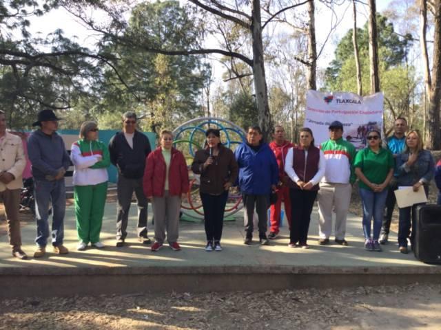 """Se suma comuna capitalina a trabajos de preservación de Parque """"La Ocotera"""""""