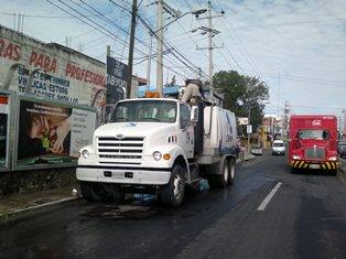 Atendió Capam fuga de aguas negras en Ocotlán