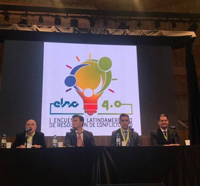 Participa HMB en encuentro Latinoamericano de Resolución de Conflictos, en Argentina
