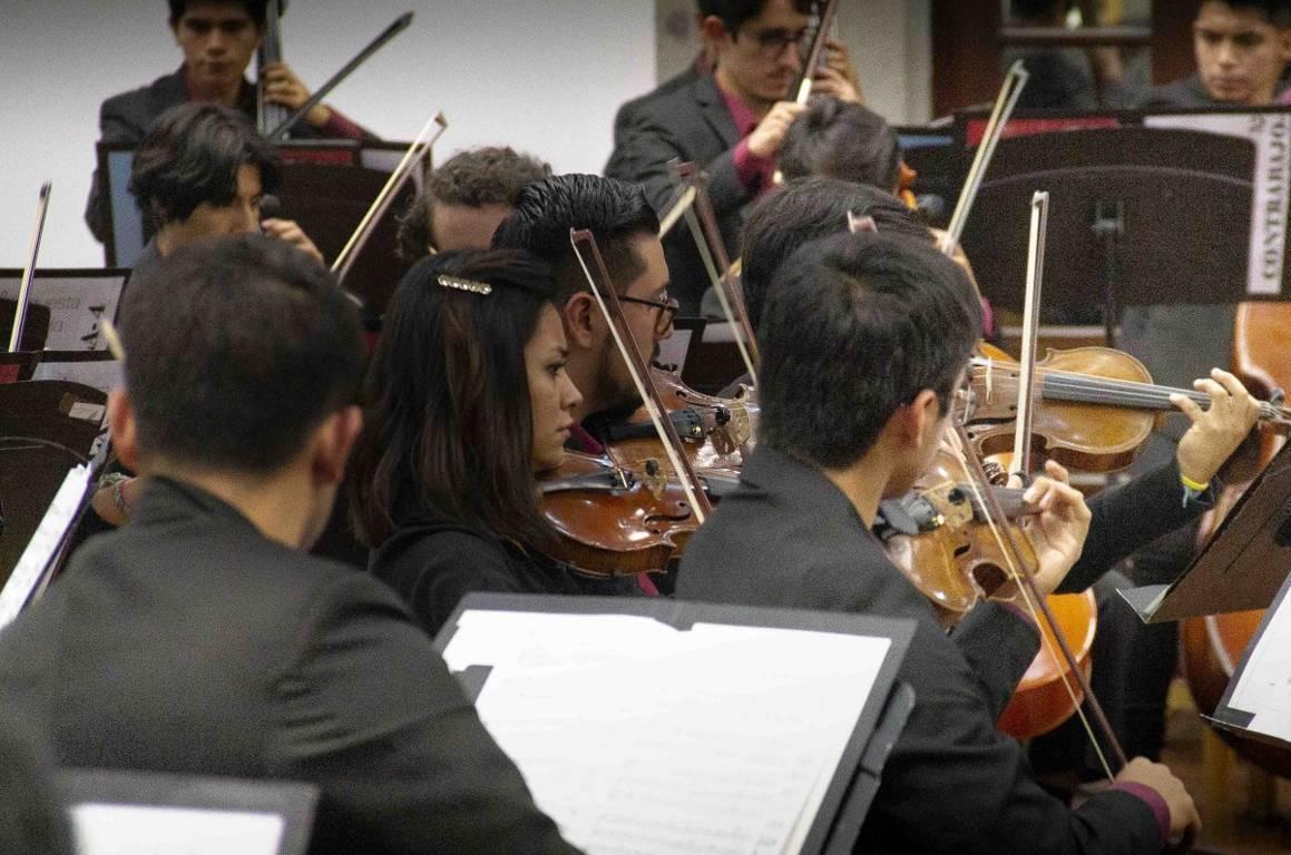 Orquesta arranca nuevo ciclo académico y da bienvenida a talentos de los Semilleros creativos