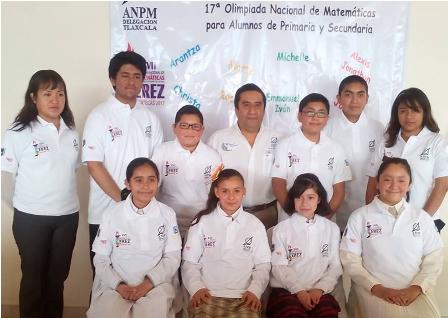 Representarán a Tlaxcala niñas y niños en Olimpiada de Matemáticas