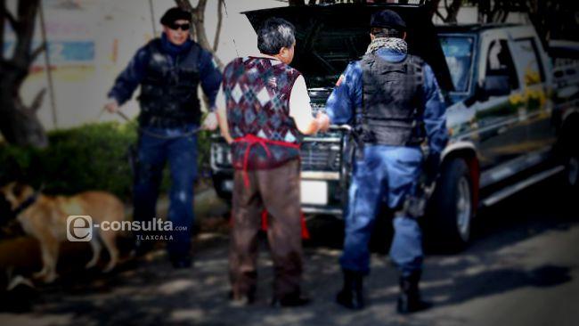 Policias de Tetlanohcan hacen operativos piratas
