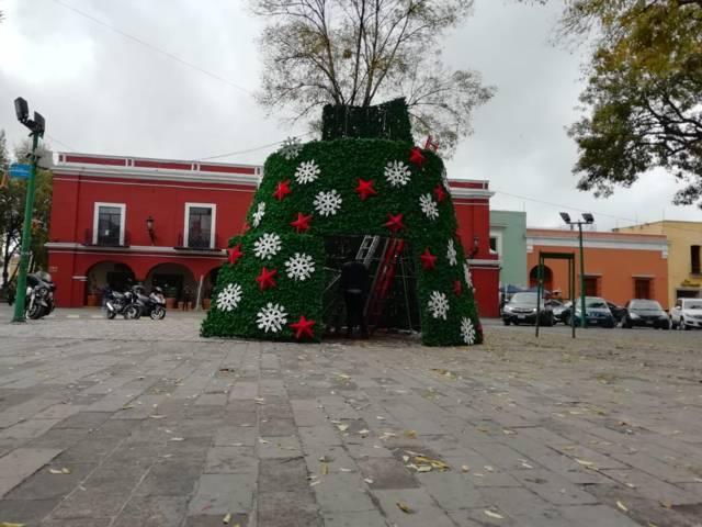 Implementarán operativo de seguridad y vialidad por inicio de festejos decembrinos en la capital