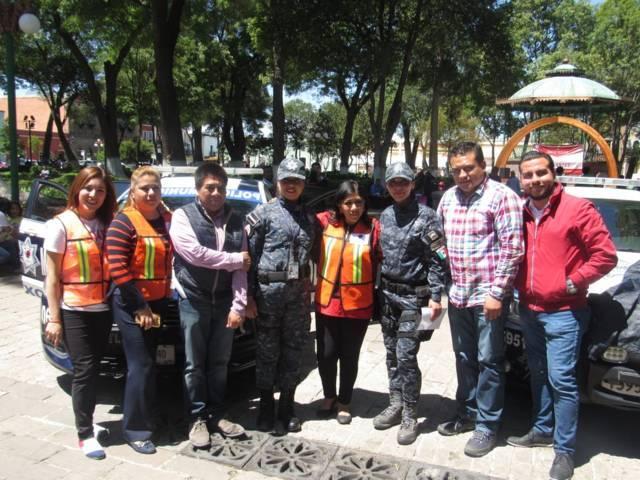 Implementan en la capital operativo especial de seguridad por la Feria de Tlaxcala
