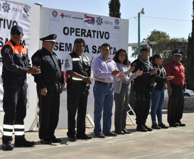 Arrancó operativo de Semana Santa 2018 en Calpulalpan
