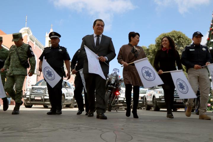 Sánchez Jasso puso en marcha operativo Por un Tlaxcala Seguro 2019