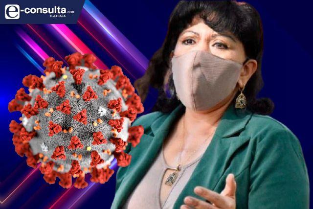 Anabell Ávalos virtual candidata al gobierno de Tlaxcala da positivo a Covid-19