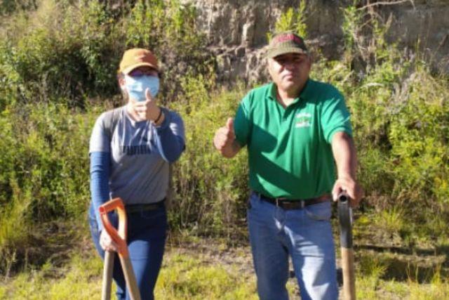 Grupo social realiza reforestación en Tenexyecac