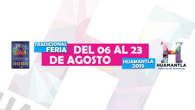 Feria Huamantla 2015: Programa