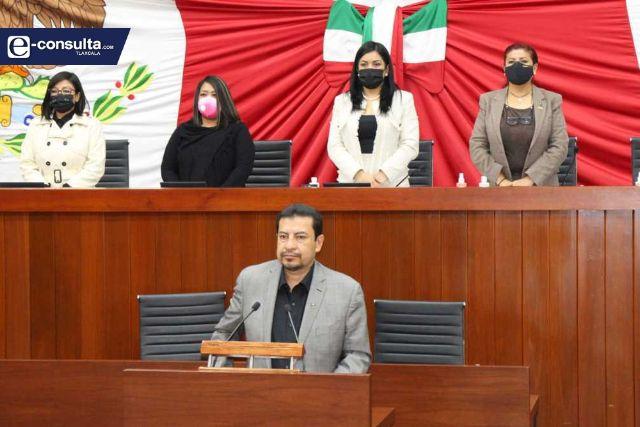 Honra la LXIII Legislatura De Tlaxcala, la memoria del Senador Joel Molina
