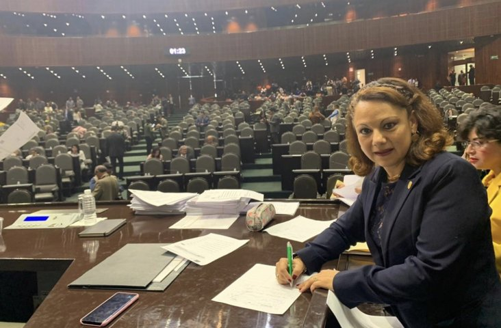 Respalda Diputada Federal, Claudia Pérez iniciativa para crear Ley de Amnistía