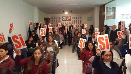 Sin problemas instala PAN Consejo Estatal 2017- 2019