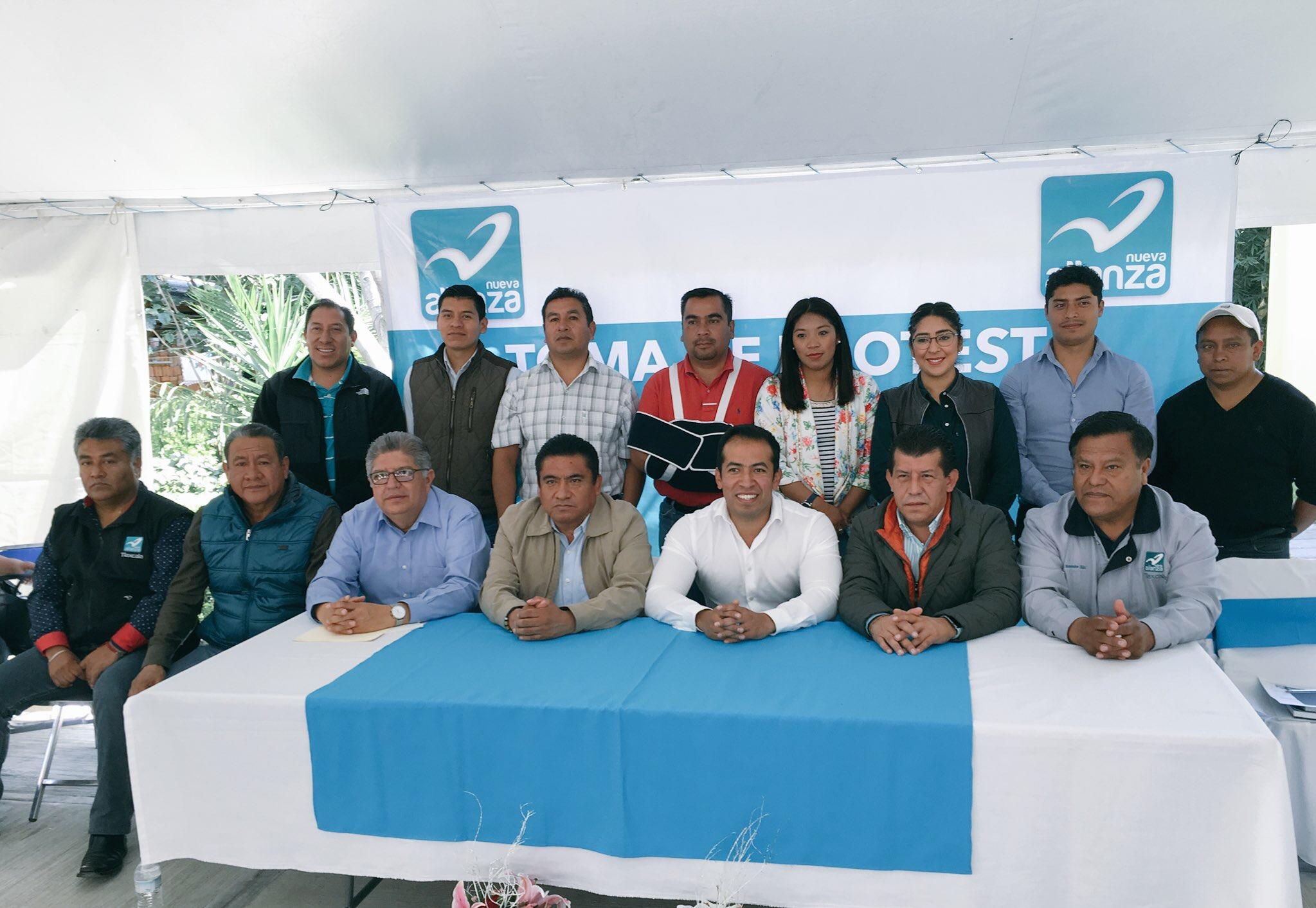 Instala Nueva Alianza Comité Municipal en Tepeyanco