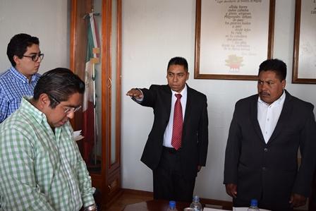 Designan en  Panotla a director de Seguridad Pública