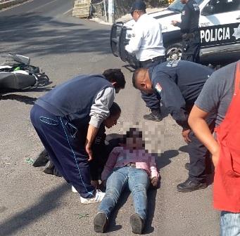 Atropella papá del alcalde de Panotla a joven y es protegido por la policía